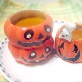 ハロウィンに!どっしり濃厚なかぼちゃプリン!