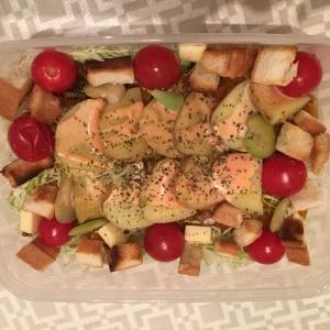 ジャガイモとキャベツのサラダ弁当♬