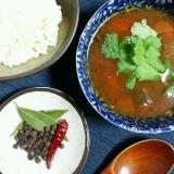酸味&辛みの野菜エキスたっぷり養生スパイススープ。