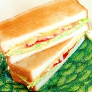 キャベたまチーズトーストサンド