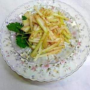 中華風セロリのサラダ