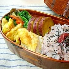 *土鍋で♬ おいしく炊く赤米・黒米ごはん*