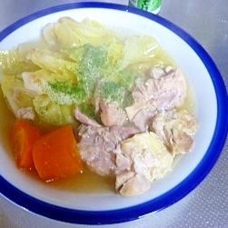 チキン野菜スープ