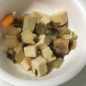 離乳食完了期☆牛肉と厚揚げ豆腐と大根の煮物☆