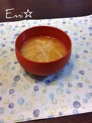ツナを味噌汁に!?意外と美味!大根とツナの味噌汁