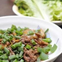 プルコギ風★牛肉炒め