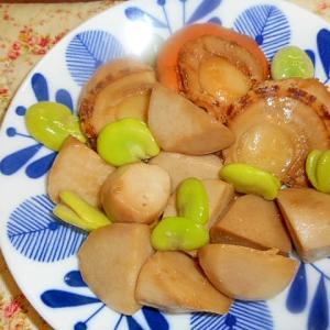 里芋・ホタテの煮物