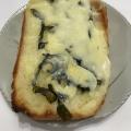 簡単朝食☆おつまみにも…のりチーズトースト^^