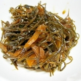 白いご飯を呼ぶ≫生姜と昆布の佃煮