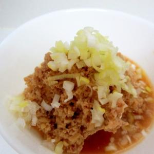 ひき肉えのきあん煮豆腐