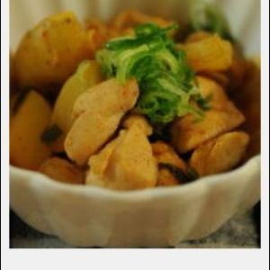 鶏肉のコチュジャン煮。