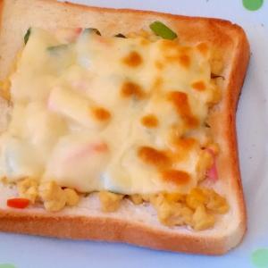 リメイク!炒り豆腐でチーズトースト