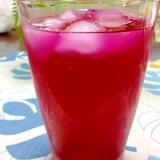 てんてきの糖で赤紫蘇ジュース