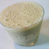 バナナとゆであずきの緑茶ミルク(アイス)