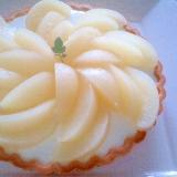洋梨のヨーグルトケーキ