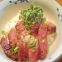牛ヒレステーキ丼