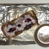 ブルーベリーいちごヨーグルあんこチョコクリームパン