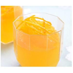 ジューシーでみずみずしいオレンジゼリー