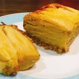 ガトーインビジブル 薄切りりんごの重ねケーキ