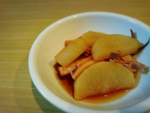【ホットクック】イカと大根の煮物