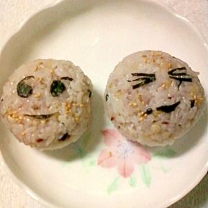 コラーゲン入り☆雑穀米で作ったおにぎり