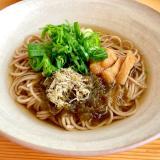温まる〜☆きざみおぼろ蕎麦