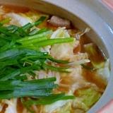 味噌味のモツ鍋