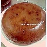 炊飯器で簡単チョコレートケーキ♪