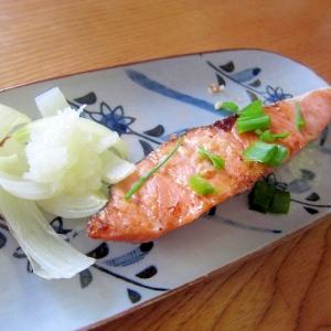 鮭新玉葱焼き