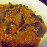 簡単&美味☆なすびとひき肉のカレー