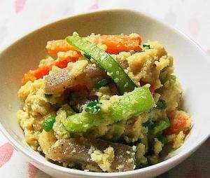 簡単!野菜たっぷり卯の花の煮物