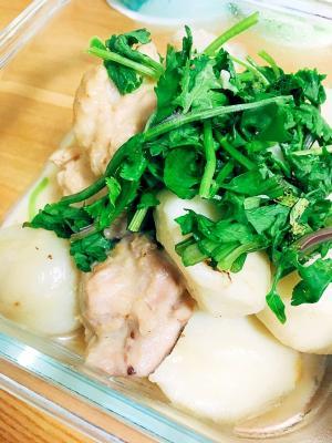 エスニック!里芋と鶏のナンプラー煮