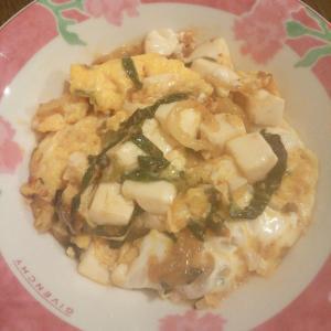 卵とじ麻婆豆腐