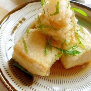 夏の揚げ出し豆腐
