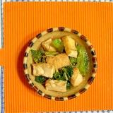 高菜と厚揚げの煮物♪