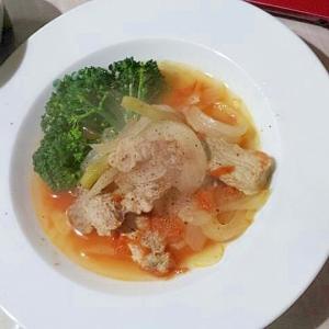 家イタリアン☆優しい味わい豚肉のフレッシュトマト煮