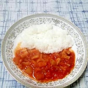 ☆チキントマト煮ライス☆