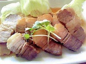 レンジで豚煮~チャーシュー風~