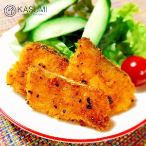 ソースいらず✰鮭のチーズパン粉焼き