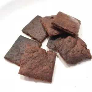 トースターで焼くココアクッキー