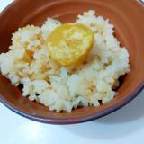 栗の甘露煮de栗ご飯