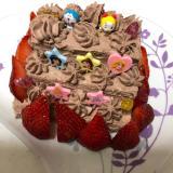 3歳児クッキング♡食パンでひなまつりケーキ(^^)