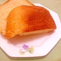 薄力粉で作るふっくら赤酒HB食パン