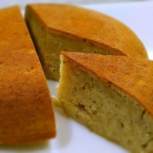 炊飯器・HM使用で簡単☆ホエイ入りバナナケーキ
