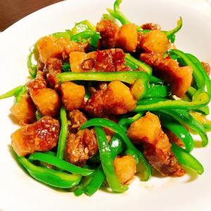 オリジナルタイ中華✦カリカリ豚の青椒肉絲風✦