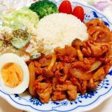 豚肉×玉ねぎのすぐできレシピ♪ポークチャップ