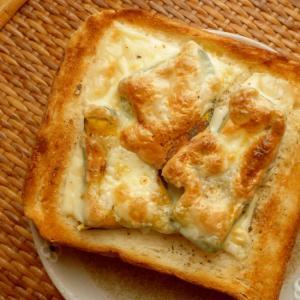 かぼちゃチーズトースト