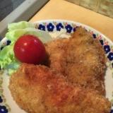 薄切り鶏胸肉のチキンカツ