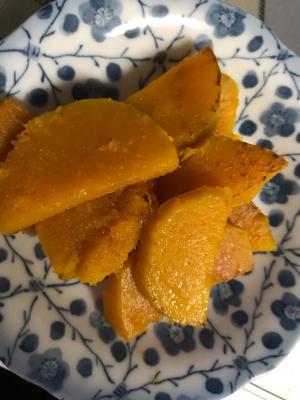バターナッツかぼちゃの塩胡椒ソテー