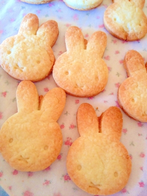 卵・バターなし☆サクサククッキー